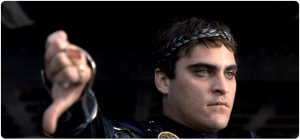 "Commodus from ""Gladiator"""
