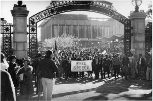 Berkeley once marched for free speech